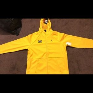 Jordan Brand Michigan Dri Fit Jacket
